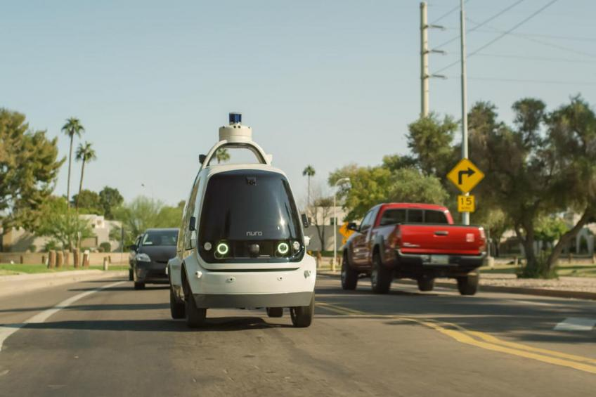 Self-driving delivery startup Nuro wins $940 million SoftBank investment