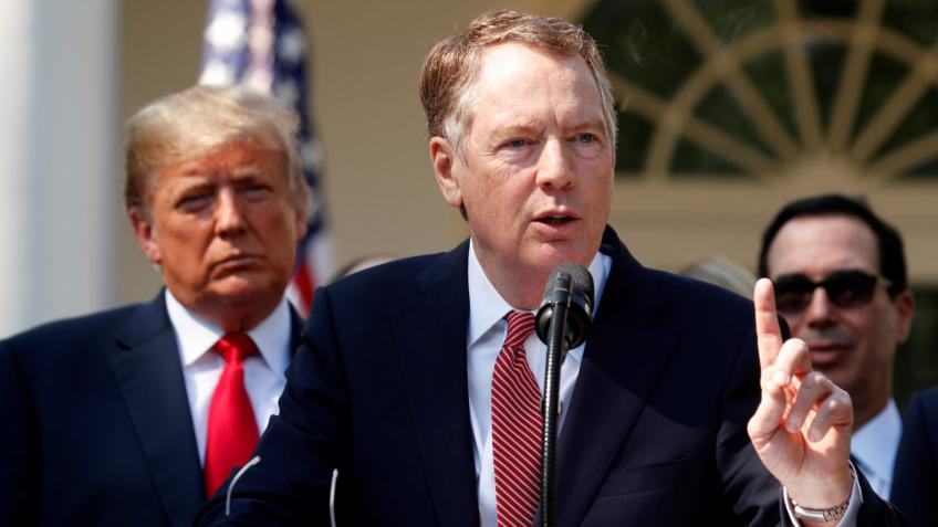 US working on steel, aluminum tariff relief for Canada, Mexico: Lighthizer