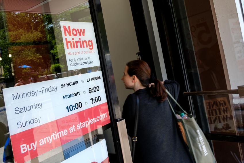 US job opening surged 1,02,000 in January: Labor Dept.