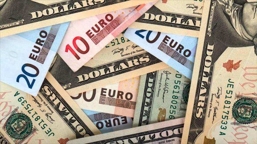 Economic struggles in the EU bring down Euro's value against the US dollar