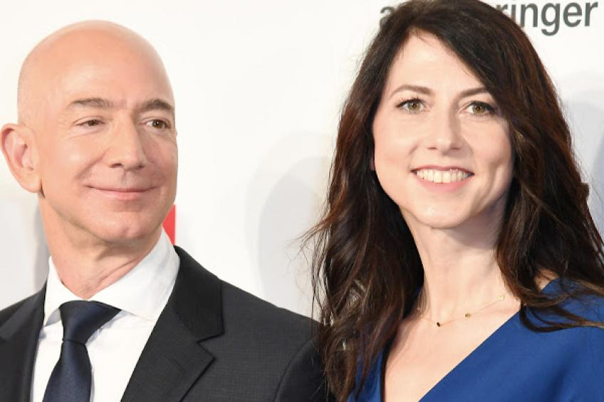Bezos' ex-wife forswears Amazon control in divorce deal