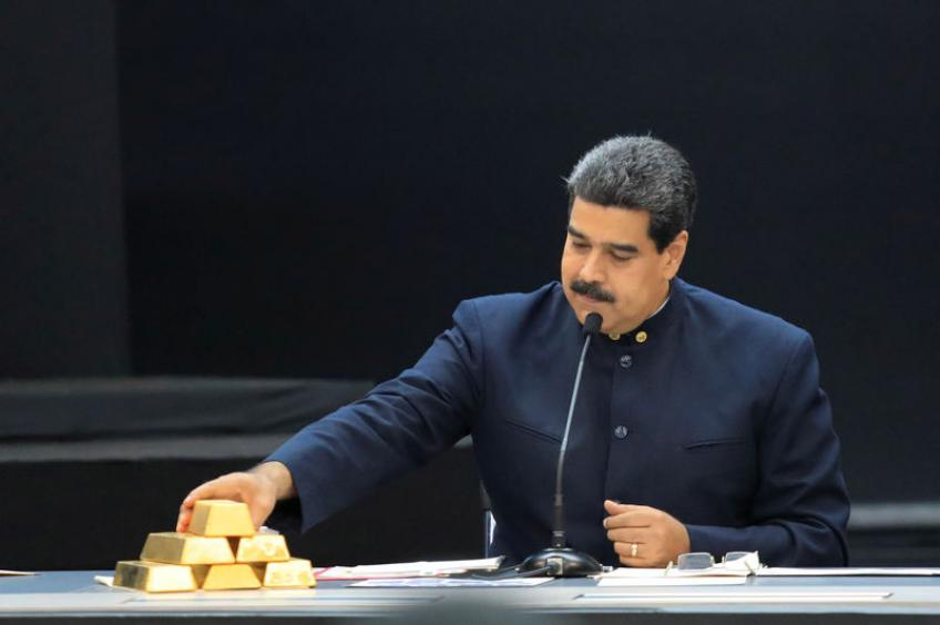 Venezuela removes eight tons of gold of its central bank to feed nation