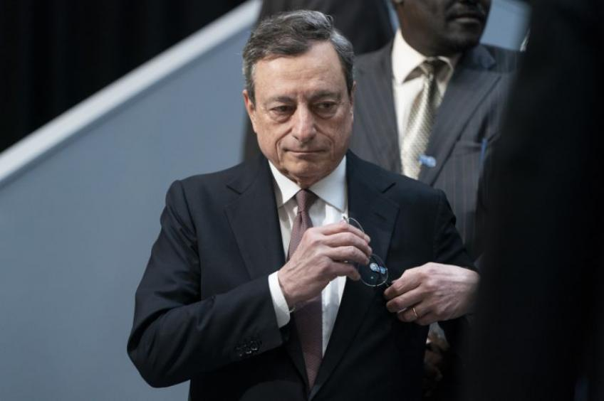 ECB President Draghi worried about Fed's independence