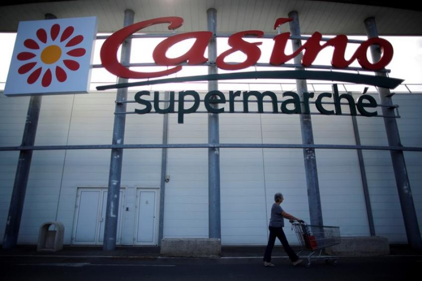 French retailer Casino sells assets to Apollo Global