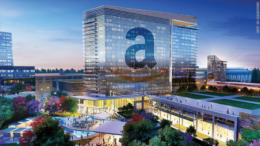 Amazon starts off recruiting & leasing office for Virginia HQ2
