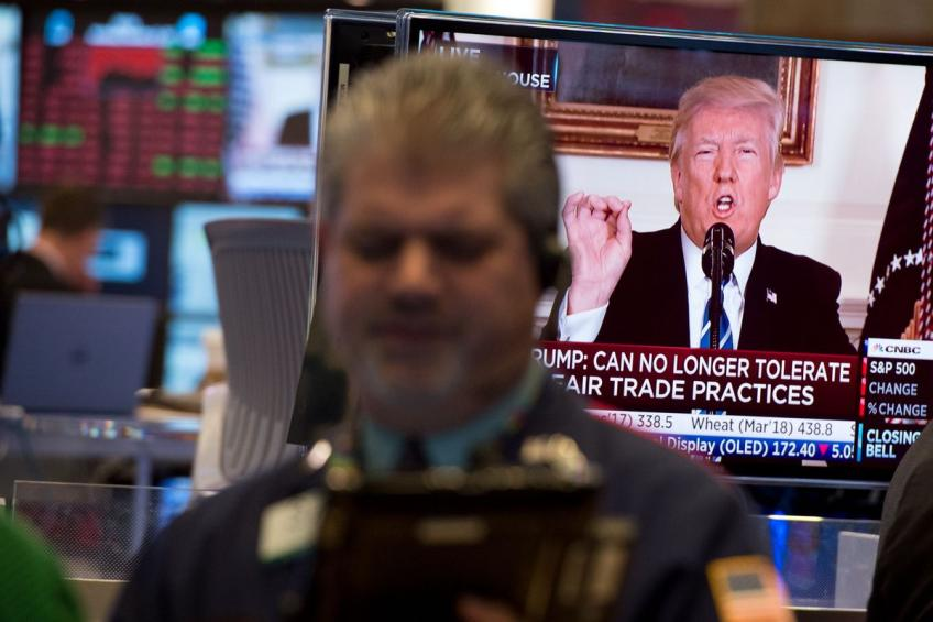 Wall St. sours ahead of Sino-US trade talk, braces for a breakdown