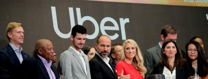 Uber starts trading 6.7% down from IPO price amid sorrow mise-en-scène