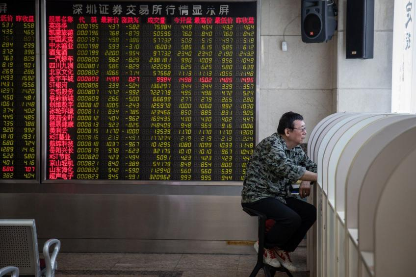 Stock futures slump in Asia as trade-strain simmers