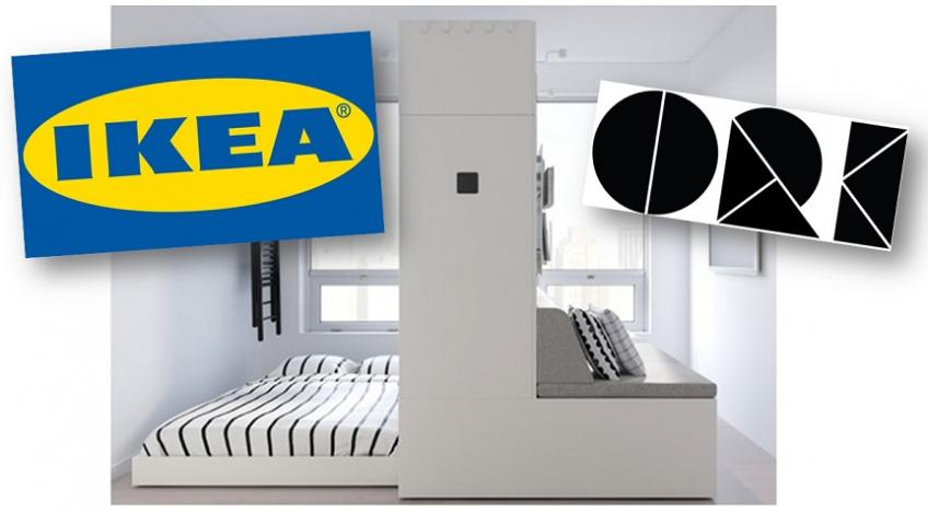 IKEA partners up with Ori on robotic furniture to help save space