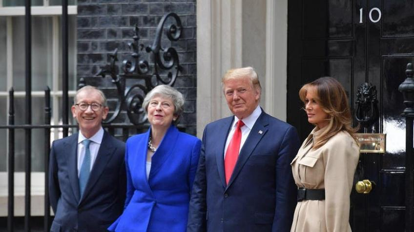 Ebullient Trump promises UK a 'phenomenal' post-Brexit deal