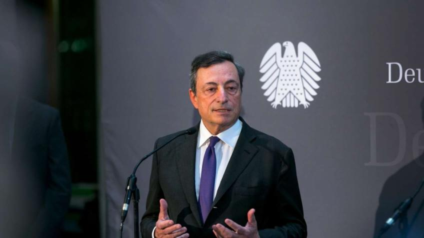 Eurozone stocks hurt by strong euro, as Draghi drives off doves
