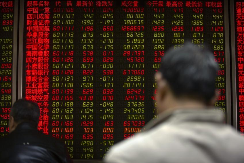 Global stocks climb on China data, rate cut hope, Yuan drops to 2019-low