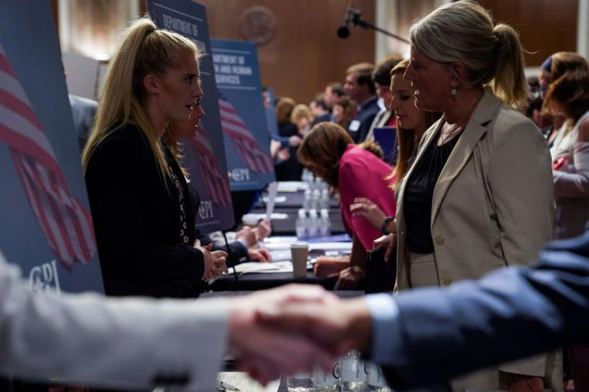 US job openings falter, hiring hits all-time high: JOLTS
