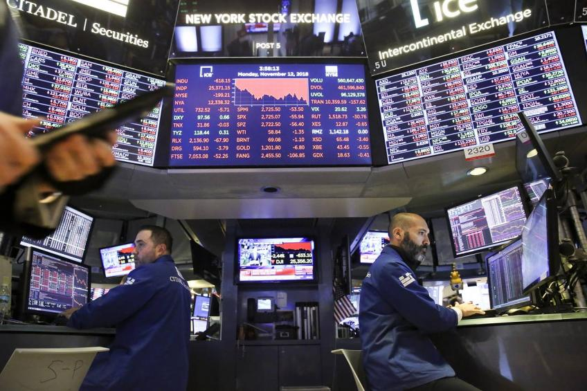 Wall St. rises on Mexico relief, Dow up for sixth straight session
