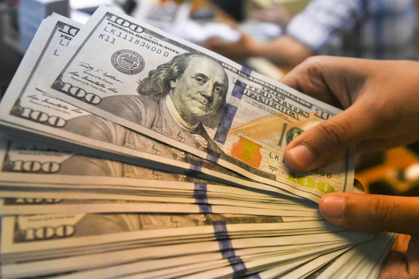 Dollar gains as Fed Res denies possibility of higher rate cuts