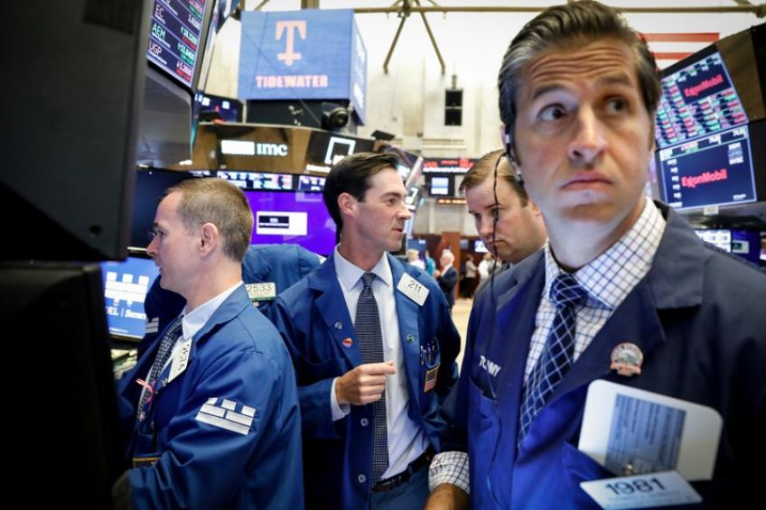 US stocks retreat from record highs ahead of mid-week Fed meet
