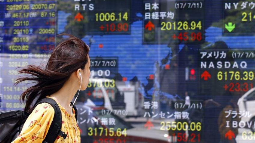 Asian shares slip to two-month lows as trade spat sprouts slowdown frets