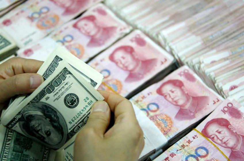 Yuan tottered below 7/dollar to 11-year-low, as trade tension pours scorns