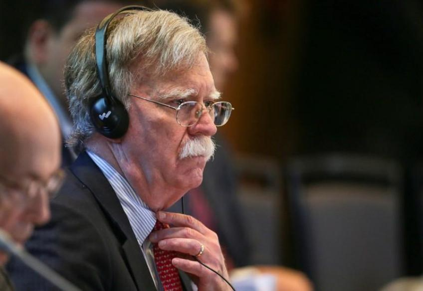 White House adviser Bolton to urge tougher UK stance on China and Iran