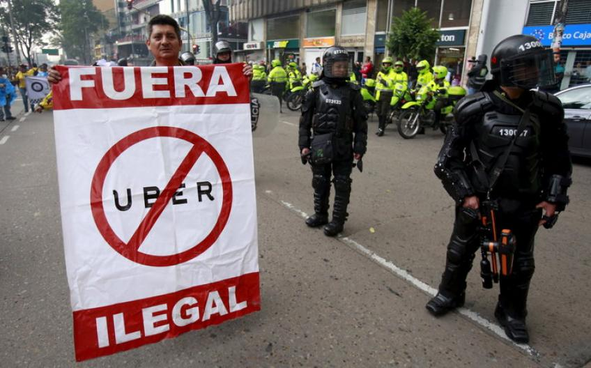 Colombia fines Uber $629,000 for obstructing regulatory visit