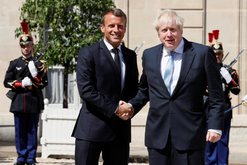 """""""Too late for a new Brexit deal"""", France's Macron tells Boris Johnson"""