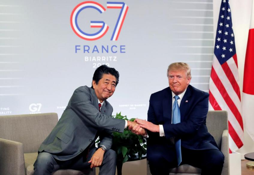 Trump, Abe say US & Japan agreed on core principles in trade deal