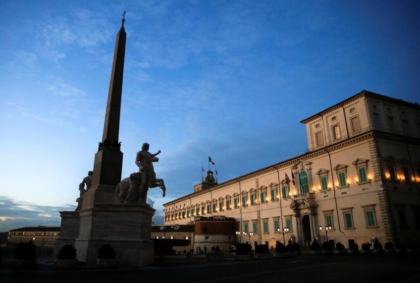 Italy's budget deficit seen falling by 1.9% in 2019, 1.6% in 2020