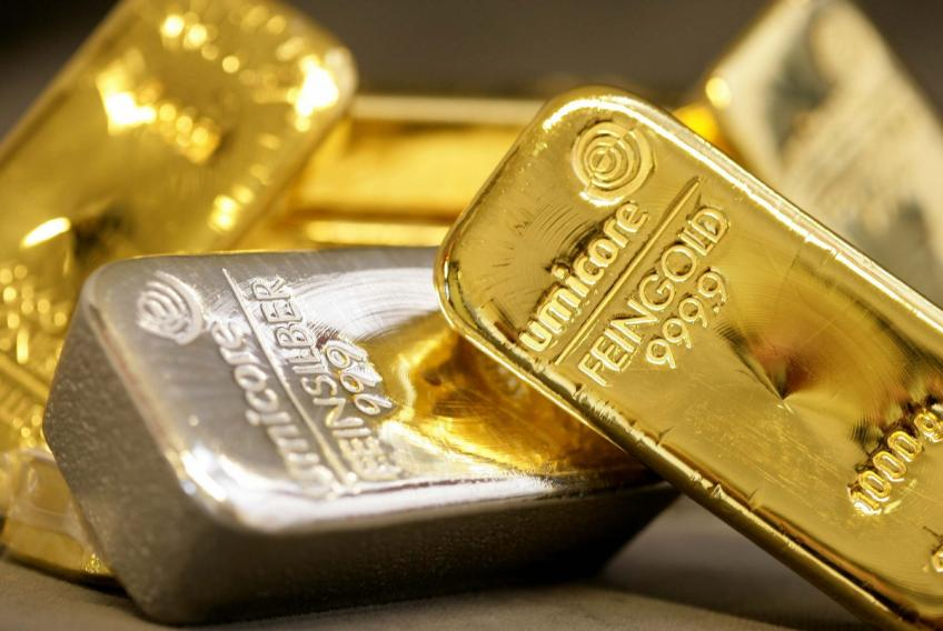 Spot gold, silver surge after weak US factory data heats up slowdown fear