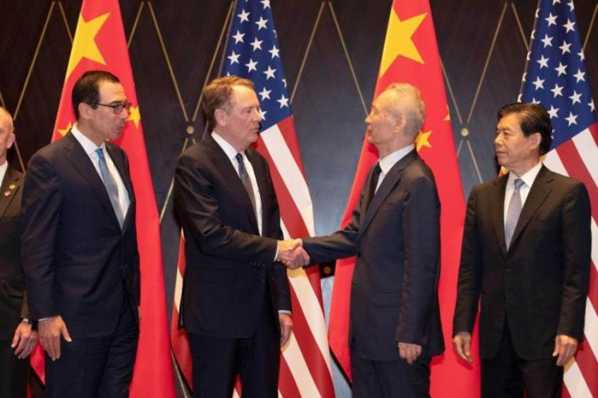 US & China agree to resume trade talks, market space-dives