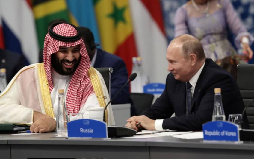 Saudi crown prince arrives in Algeria, denounced by scholars, journalists