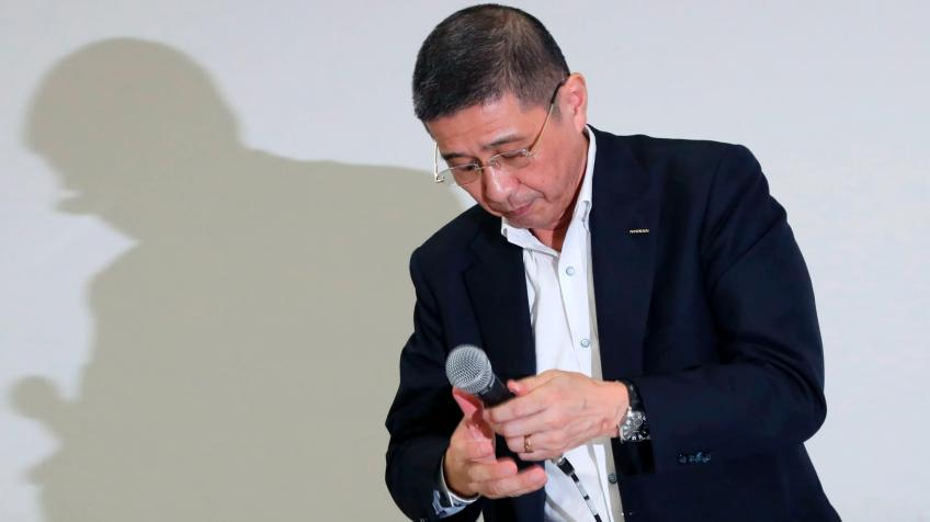 Financial irregularities force new Nissan boss to step down
