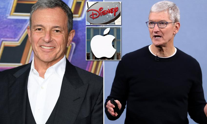 Disney CEO resigns from Apple board as streaming TV battle steams up