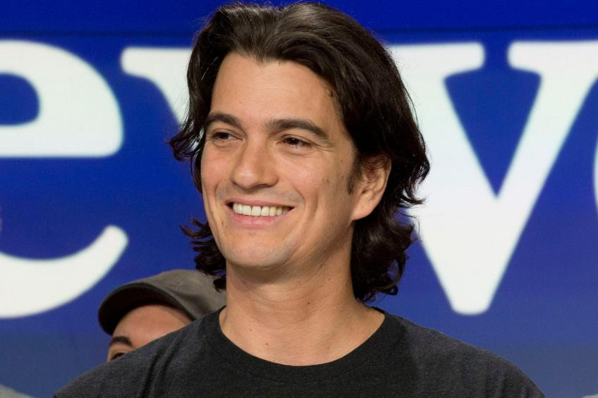 Nine years after co-founding WeWork, Adam Neumann resigns as CEO