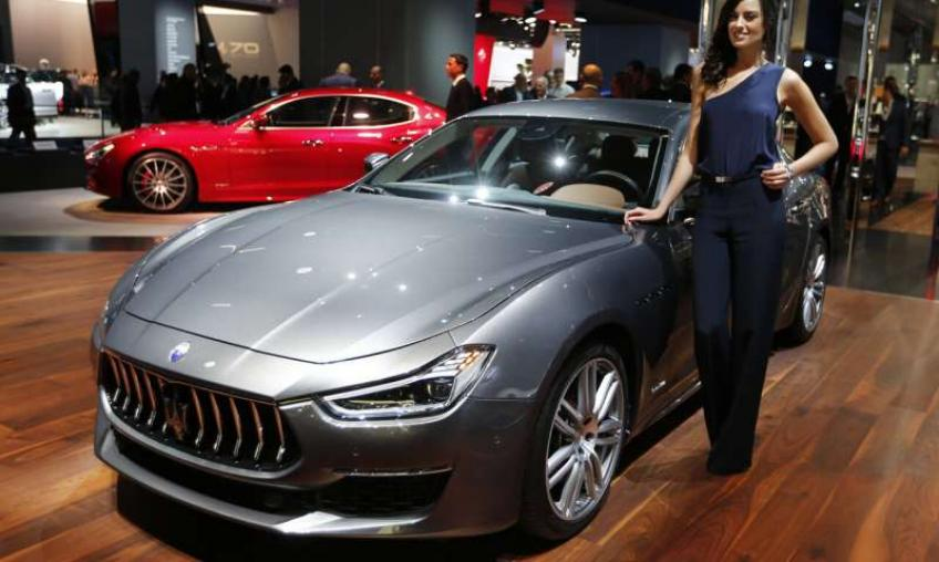 FCA's Maserati to invest at least €1.6 billion to launch new models
