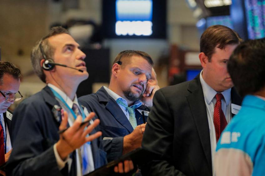 Wall St. slides as whistle-blower's report adds to investors' worries