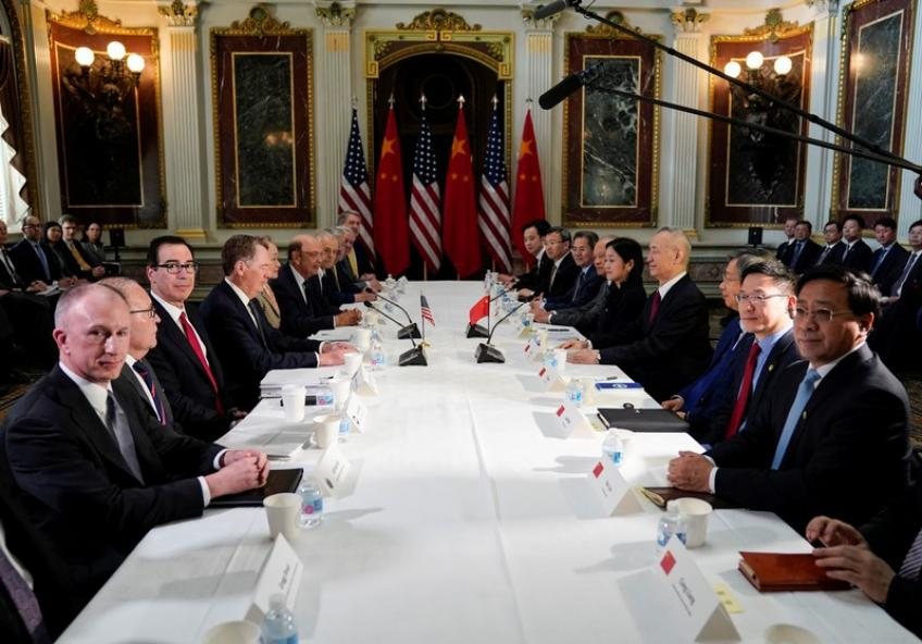 US-China Deputy level trade talk gets underway amid tense air