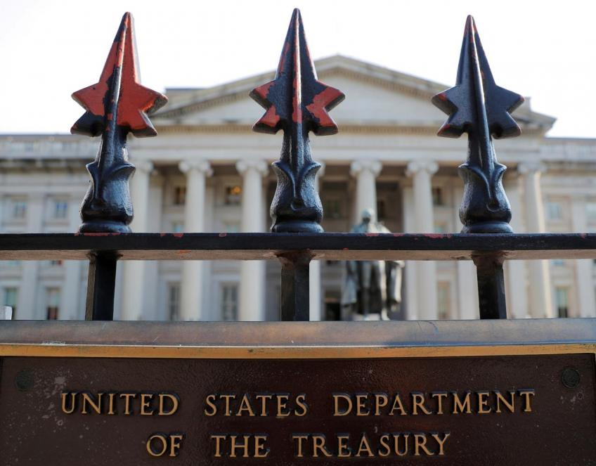 US government annual budget deficit largest since 2012