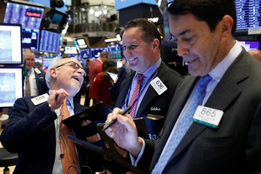 S&P 500 approaches record high on trade progress, upbeat Intel earnings