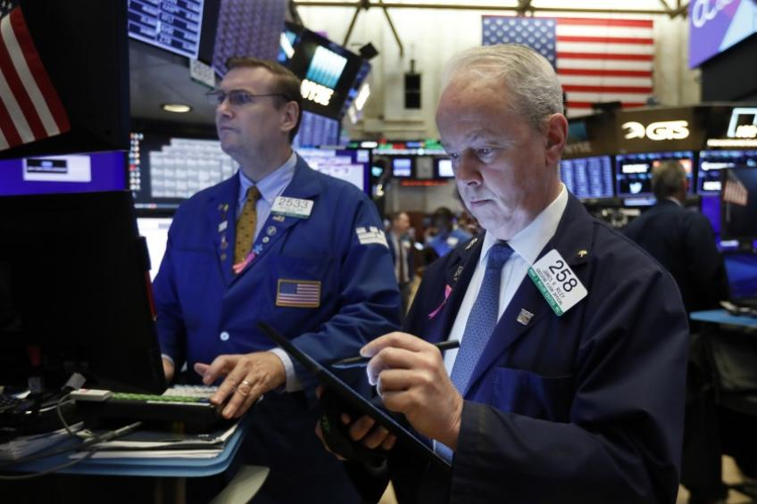 Wall St. gains after Fed rate-cut, robust remarks by Fed's Powell
