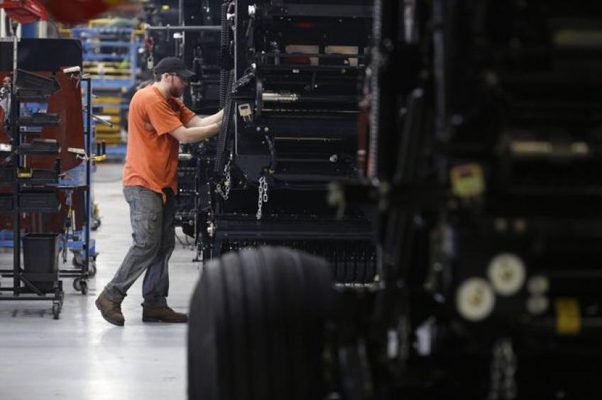 US factory orders falter in September, core capital goods revised down
