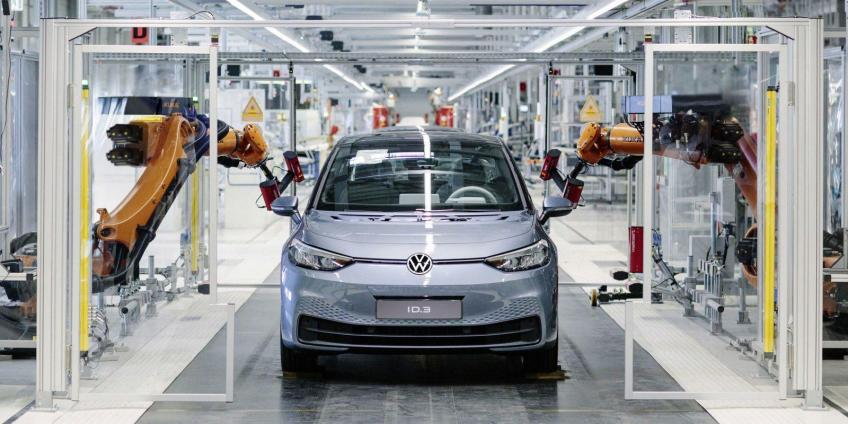 VW Shanghai EV plant with SAIC set out trial-run to outweigh Tesla