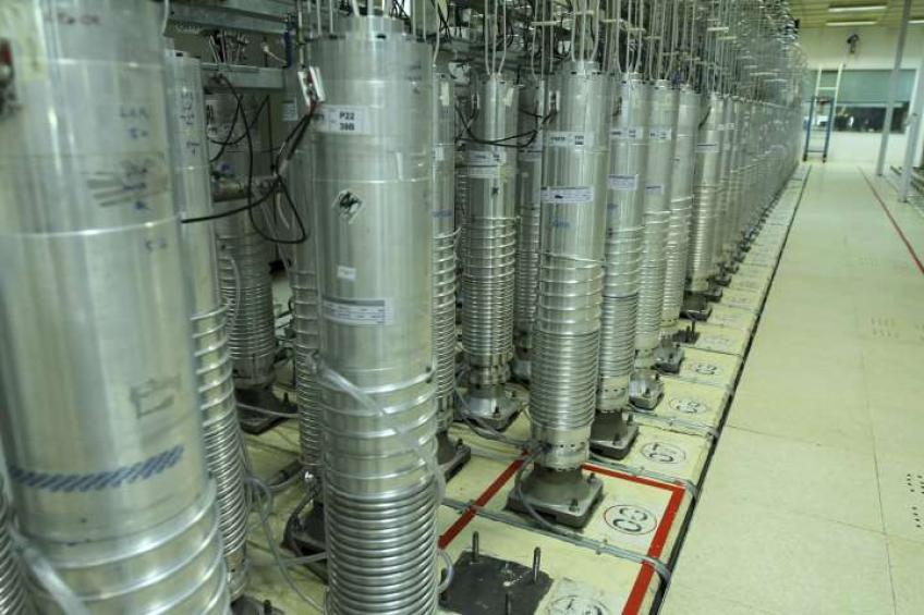 Iran reaches 60% uranium enrichment capacity: atomic energy spokesman