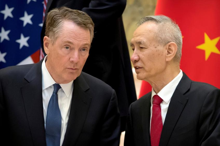 China says holds rigorous talk with US as Trump kept traders on their toes