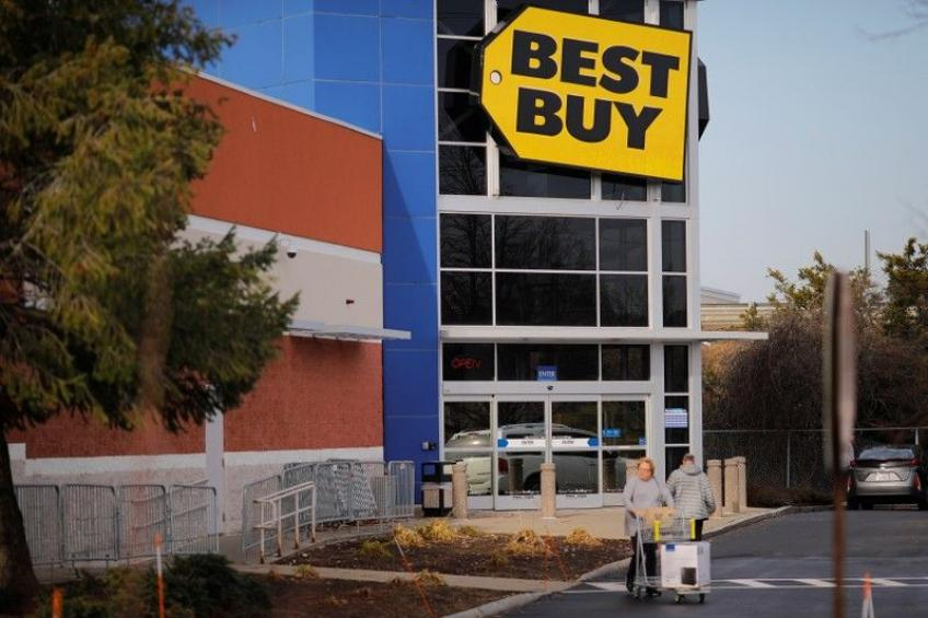 Best Buy bolsters holiday shopping demand with upbeat forecast