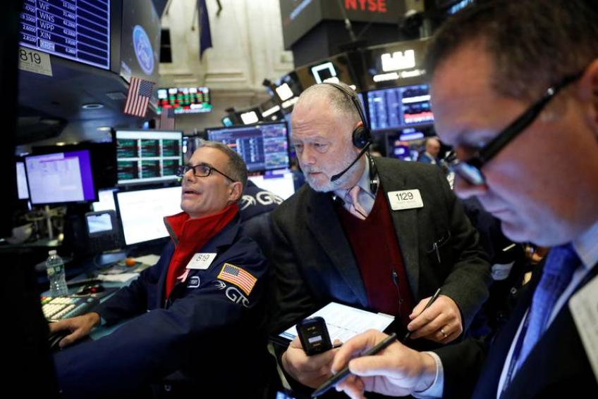 Trade optimism, strong data lift Wall St. to record levels
