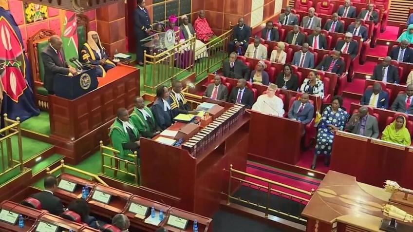 Kenya's parliament approves an extra 78 billion shilling in budgetary expenses
