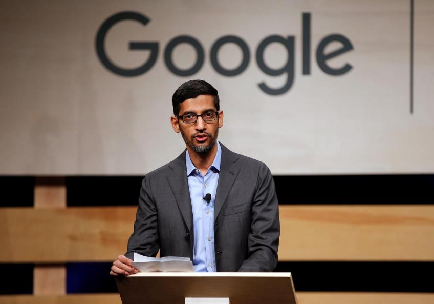 Google co-founders step aside as Pichai takes charge of parent Alphabet