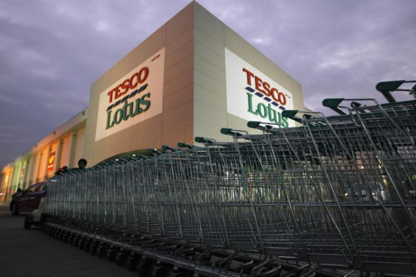 Tesco shares climb 5% over possible exit of Asian business