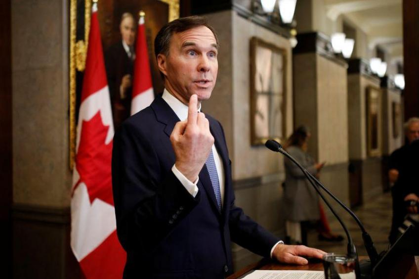 Canada's budget deficit will be larger than forecast over next five years: Fin Min