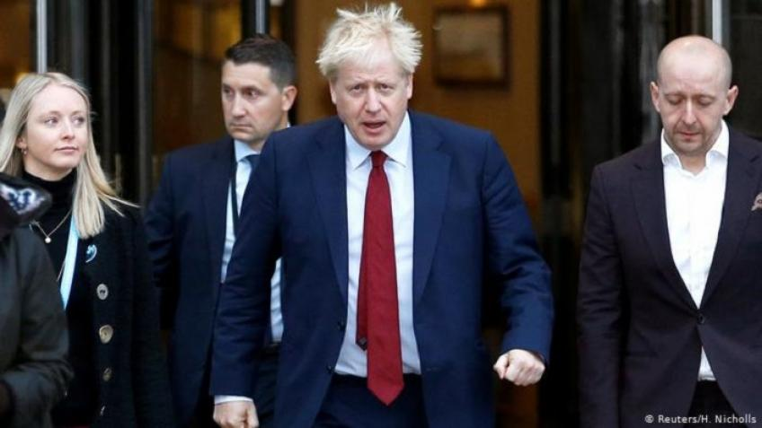 Johnson calls for a united Britain on Brexit in his New Year message